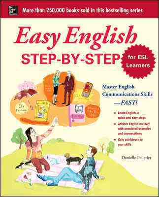 Easy English Step-by-Step (ESL) By Pelletier, Danielle