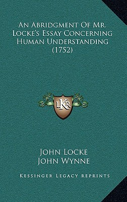 john locke essay concerning human understanding book 1 chapter 2 An essay concerning human understanding book ii: ideas essay ii john locke chapter viii: this in book i will probably be received more favourably.
